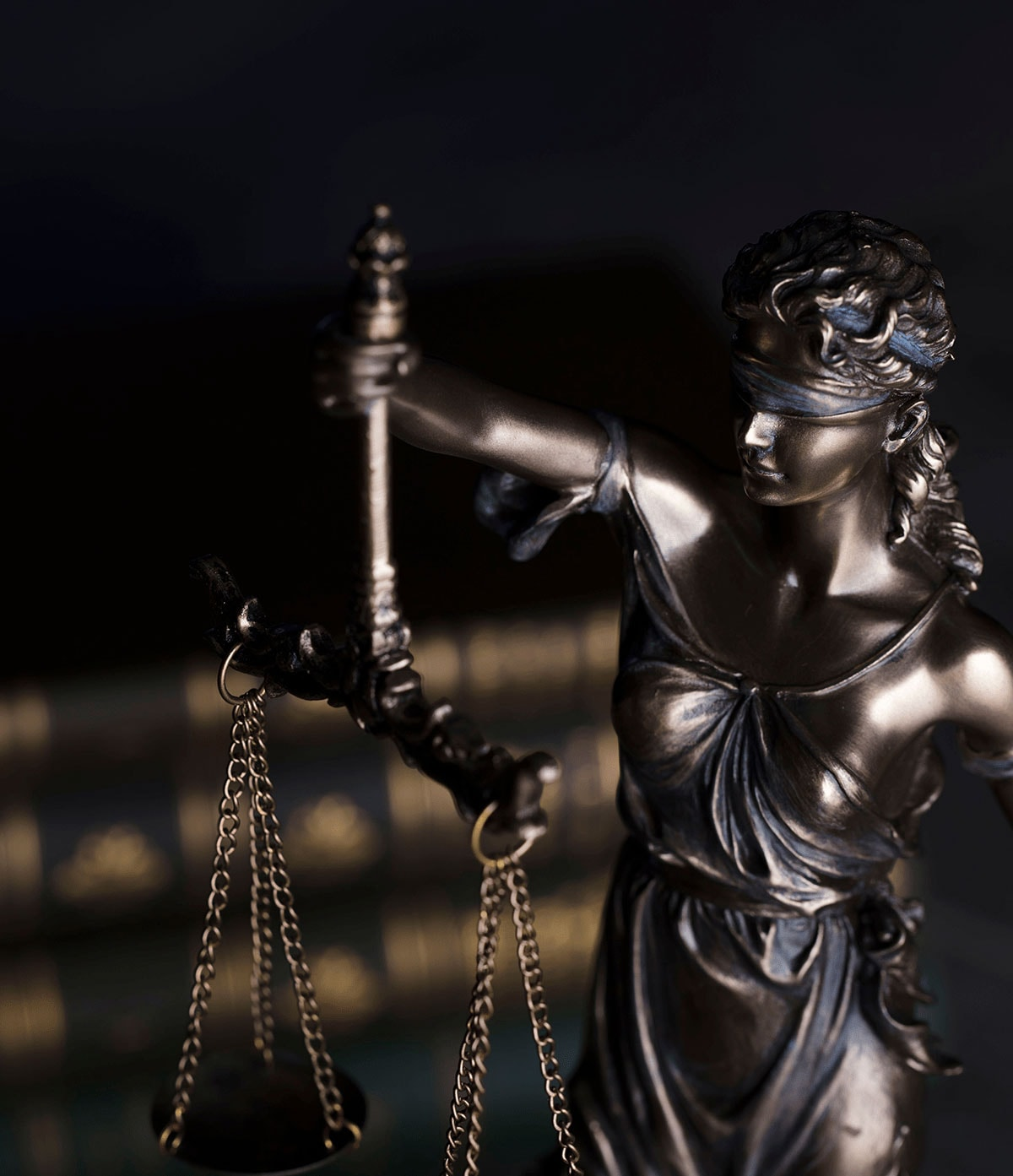 lady justice blindfolded